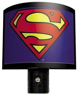 Superman - Logo - Night Light