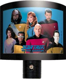 Star Trek - The Next Generation: Cast Night Light