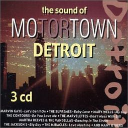 The Sound of Motortown Detroit (3-CD)