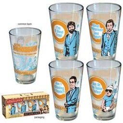 Wedding 4-Pack Pint Glasses