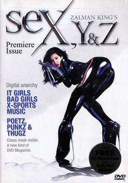 Zalman King's SeX, Y & Z: Premiere Issue (DVD +