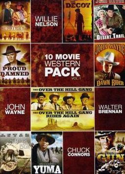 10-Movie Western Pack, Volume 1 (2-DVD)