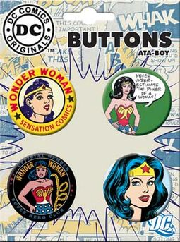 LMTD: DC Comics - Wonder Woman - Retro - 4-Piece