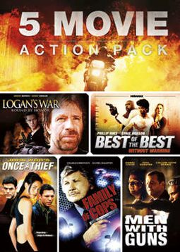 5 Movie Action Pack, Volume 2