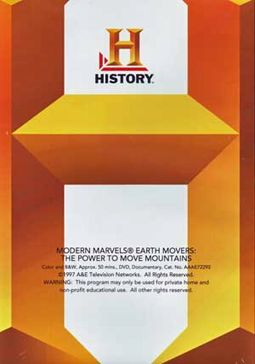 History Channel: Modern Marvels - Earth Movers: