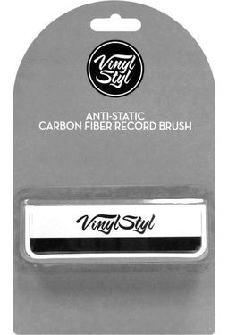 Vinyl Styl Anti Static Carbon Fiber Record Brush Vinyl
