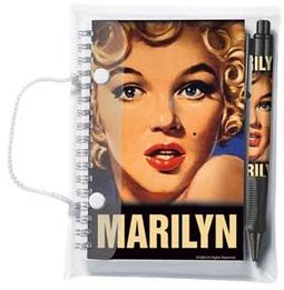 Marilyn Monroe - Bus Stop Grip Pen & Notebook Set