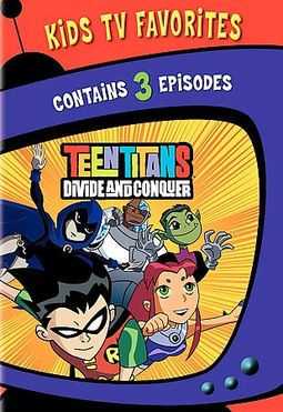 Teen Titans - Divide and Conquer - Volume 1