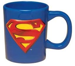 DC Comics - Superman - 18 oz. Ceramic Sculpted Mug