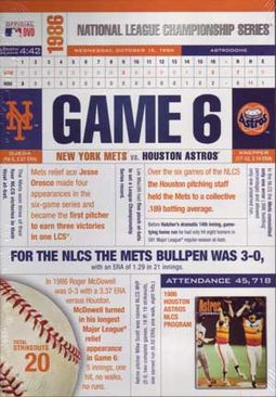 Baseball - 1986 National League Championship,