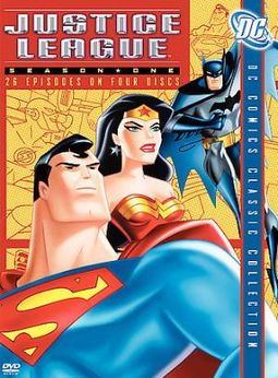 Justice League - Season 1 (4-DVD)