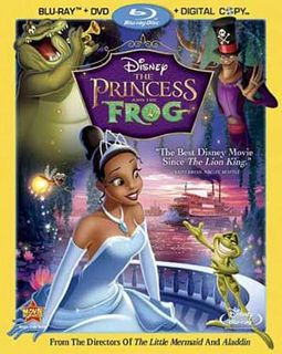 The Princess and the Frog (Blu-ray + DVD +