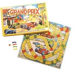 Retro Toy - Grand Prix Racing Vintage Board Game