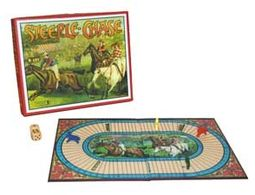 Retro Toy - Steeplechase Vintage Board Game