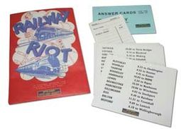 Railway Riot Vintage Game
