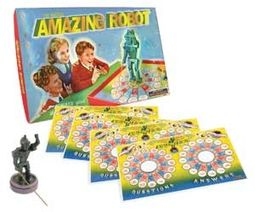 Retro Toy - Amazing Robot Vintage Board Game
