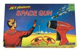 Retro Toy - Jet Harrison Space Gun
