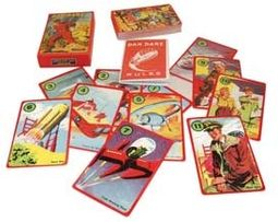 Retro Toy - Dan Dare Cards