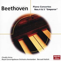 Beethoven: Piano Concertos Nos. 4 and 5 (Emperor)