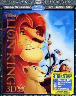 The Lion King 3D (Blu-ray + DVD + Digital Copy)