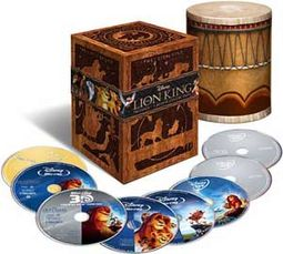 The Lion King Trilogy Collection 2D + 3D (Blu-ray