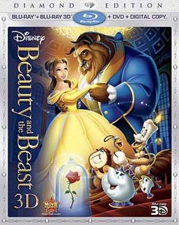 Beauty and the Beast 3D (Blu-ray + DVD + Digital