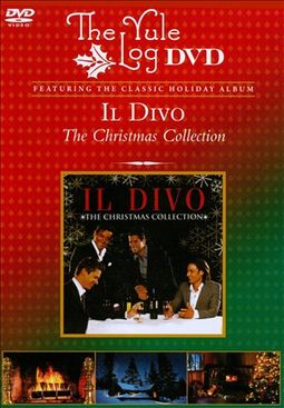 Il divo the christmas collection the yule log dvd 2010 sony legacy - Il divo christmas album ...