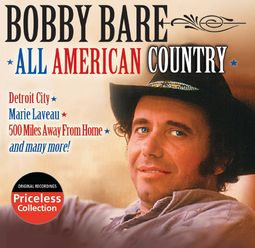 Bobby Bare All American Country Cd 2005 Collectables