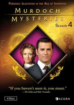Murdoch Mysteries - Season 4 (4-DVD)