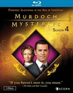 Murdoch Mysteries - Season 4 (Blu-ray)