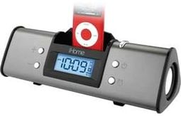 iHome IH16 Portable Stereo Alarm Clock with iPod