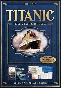 Titanic: 100 Years Below (DVD + CD + Book)