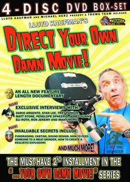 Lloyd Kaufman's Direct Your Own Damn Movie (4-DVD)