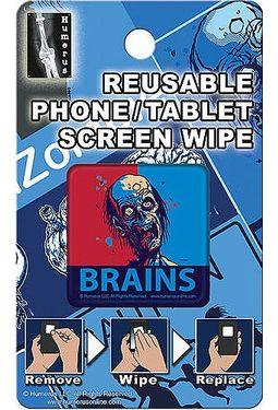 Zombie Brains - Phone/Tablet Screen Wipe