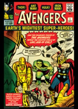Vintage Marvel Posters - Avengers #1