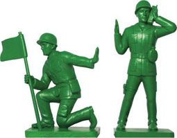 Toy Soldier Bookend Set