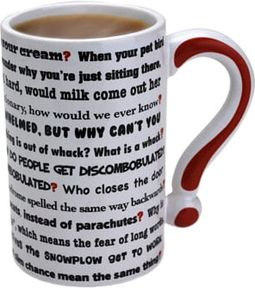 The Questions - 12 oz. Mug