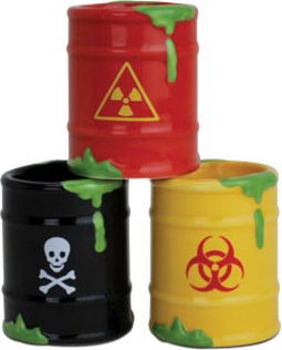 Toxic Waste - 3 Pack Shot Glass Set