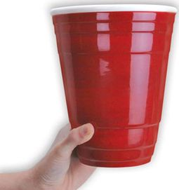 Funny - Gigantic 72 oz. Ceramic Red Party Cup