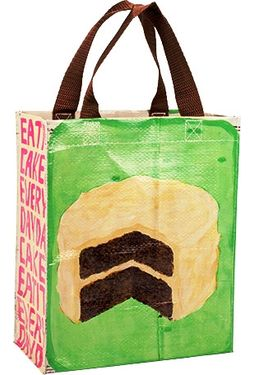 Handy Tote - Eat Cake Every Day