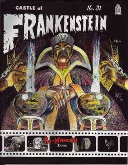 Castle Of Frankenstein #31 (Fu-Manchu Issue)