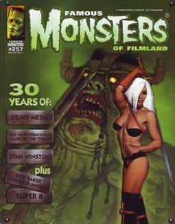 Famous Monsters of Filmland #257