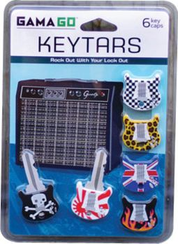 Guitar - Glam Keytar - 6-Piece Key Covers