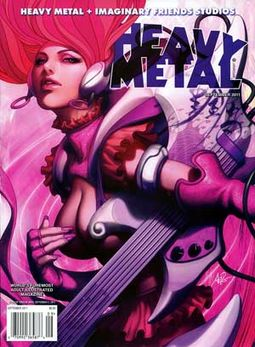 Heavy Metal - Volume #35, Issue #6