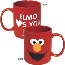 Sesame Street - Elmo: Big Face Red 11 oz. Ceramic