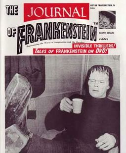 The Journal Of Frankenstein, Issue #6