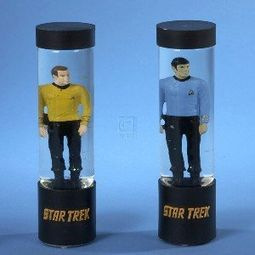 Star Trek - Light-Up Transporter Table Piece Set:
