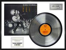 Elvis Presley - The Great Performances - Framed