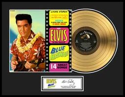 Elvis Presley - Blue Hawaii - Framed Limited