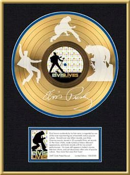 Elvis Presley - Elvis Lives - Framed Limited